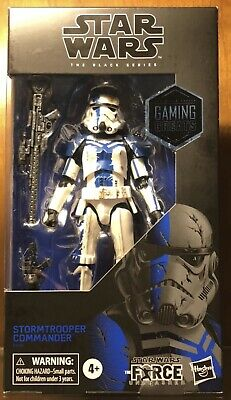 "Star Wars Black Series STORMTROOPER COMMANDER 6"" Exclusive Gamestop New In Hand"