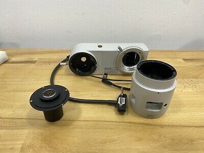 Topcon Sr 52 Still Camera Attachment Set For Topcon Photo Slit Lamp
