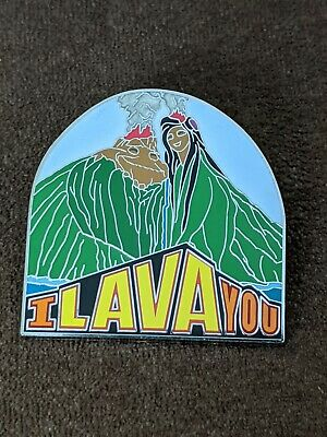 Disney Pin Trading I Lava You Pixar Short Film Pin