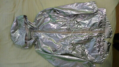 Stunning Matalan Unicorn Mermaid Metallic Pink Girls Raincoat Coat Mac Age 10