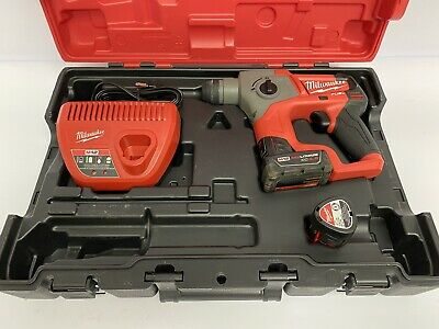 "Milwaukee 2416-21XC M12 FUEL 5/8"" Brushless Cordless SDS-Plus Rotary Hammer (y)"