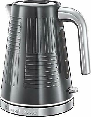 Russell Hobbs 25240 Geo Steel Cordless Electric Kettle - Contemporary Design...