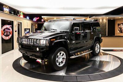 2003 Hummer H2  Hummer H2! GM 6.0L Vortec V8, 4-Speed Automatic, PB, PW, A/C, 4WD, Low Miles