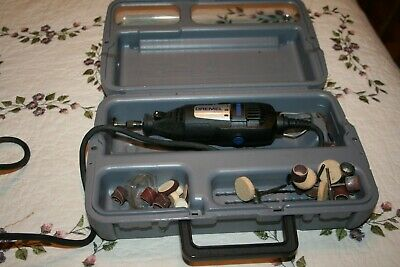 Dremel 2001 200 Series Dual Speed Corded Rotary Tool In Casew/ Accessories