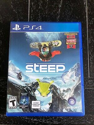 Steep (Sony PS4, 2016) PlayStation 4 game