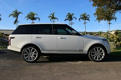 2016 Land Rover Range Rover Supercharged 2016 LAND ROVER RANGE ROVER SUPERCHARGED V8 5.0L | FL CAR | 1 OWNER FUJI WHITE