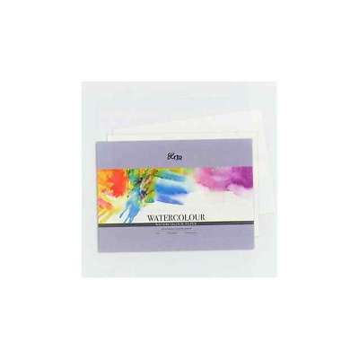 FABRIANO WATERCOLOUR PAPER COLD PRESSED (MEDIUM)  A4 300gsm Pack 12 sheets.