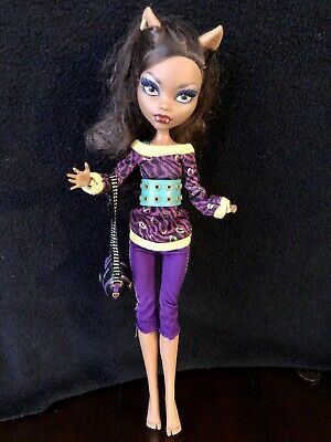 Monster High CLAWDEEN WOLF Schools Out Doll