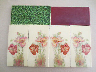 Vintage Original Tiles Good Condition for Age