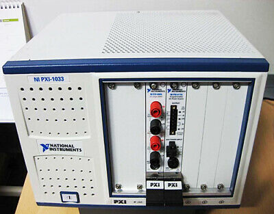 National Instruments PXI systems PXI-4065, PXI-4110, PXI-1033 [#E]