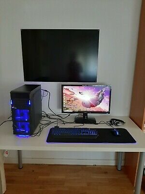 Gamer PC Komplett-Set AMD A10 9700 4x 3,8 Ghz Radeon R7 8GB 1TB Gaming Win10
