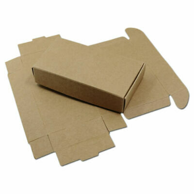20PC Wedding Favors Gift Box Candy Jewelry Packaging Brown Kraft Paper