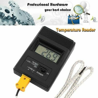 Temperature Instruments Thermocouple Probe Single Input K Type LCD Thermometer