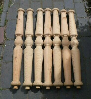 Pine Turned Posts (79A)