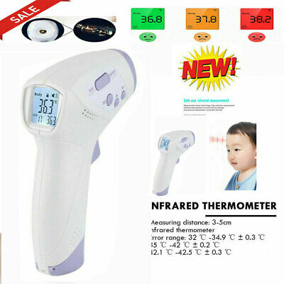 Medical Infrared Thermometer Digital Temporal Forehead Infrared Thermometer Gun