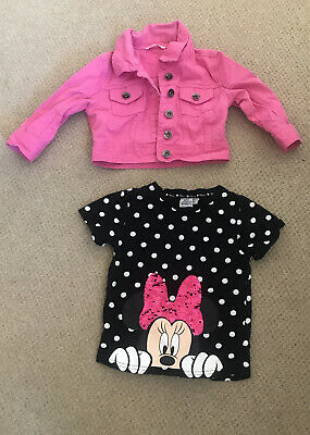 girls clothes bundle age 6-7 years Crop Jacket And Sequins Top