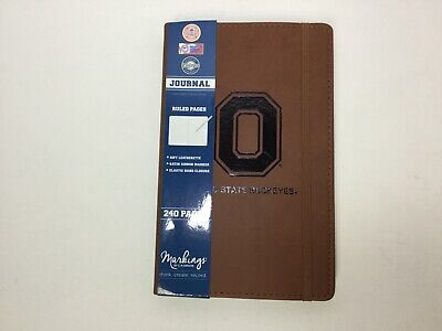 "Ohio State Buckeyes Leatherette Journal, 5-1/4"" x 8-3/8"", C.R. Gibson"