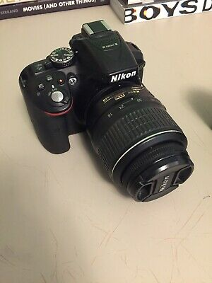 Nikon D D5300 24.2MP Digital SLR Camera - Black