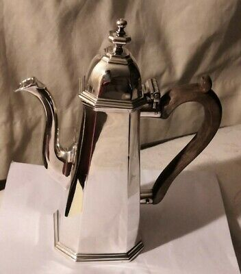 Richard Comyns Antique Sterling Silver 1930 Coffee Pot,  Asprey London