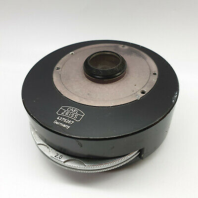 Carl Zeiss Filter Wheel Condenser Lens 4376267 Microscope Accessory