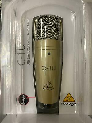 Behringer C-1U Condenser Cable Professional Microphone (New Old Stock)