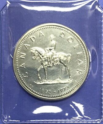 1973 Canada North West Mounted Police Specimen Silver Dollar .500 RCMP Silver