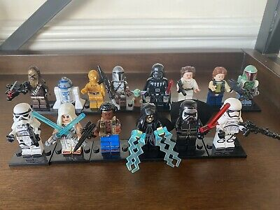 Star Wars Custom Brick Model MiniFigures Darth Vader Mado Yoda Classic Set