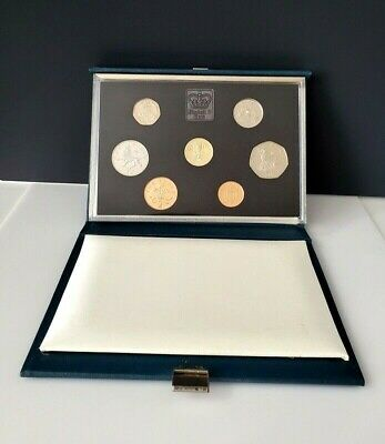 The Royal Mint 1985 Proof Coin Collection United Kingdom PROOF W/box