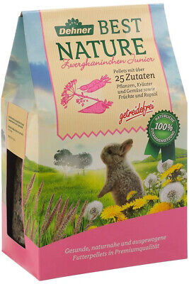 Dehner Best Nature Rodent Dwarf Rabbit Food Junior ? 2 kg