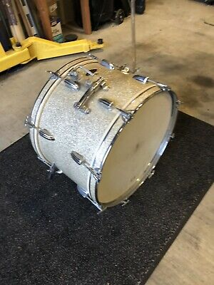 "22""x16"" 60's Apollo Bass Drum with Tom mount, Cymbal Arm"