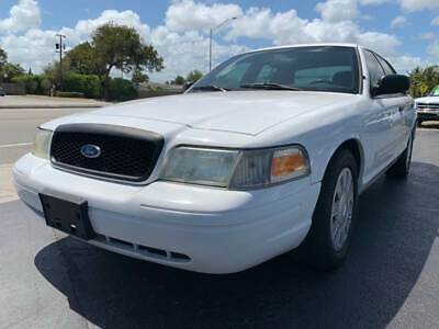 2009 Ford Crown Victoria Police Interceptor 4dr Sedan (3.27 Axle) 2009 Ford Crown Victoria Police Interceptor One Owner Florida Owned Drives Great