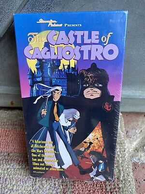 Lupin The 3rd Castle of Cagliostro VHS Cliff Hanger Stern Hayao Miyazaki