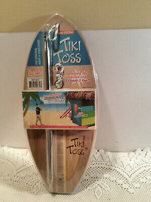 Tiki Toss Deluxe Edition Hook And Ring Toss New Bamboo