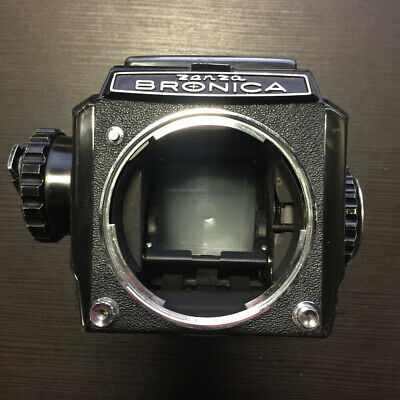 Zenza Bronica S2 Film Camera w/ 6x6 Roll Film Back & Waist Level Viewfinder