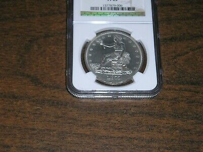 1875 $1.00 Trade Dollar NGC graded coin in PF63 condition