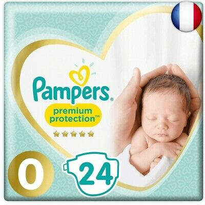 Pampers - New Baby - Couches Taille 0 1,5-2,5 kg - Lot de 2 packs (Taille 0, 48)