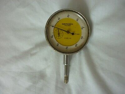"Mercer 0.01mm Dial Test Indicator Dti Plunger 2""""dia dial"