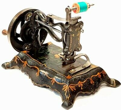 Antigua maquina de coser PAW FOOT TYPE 1862 very rare Antique sewing machine