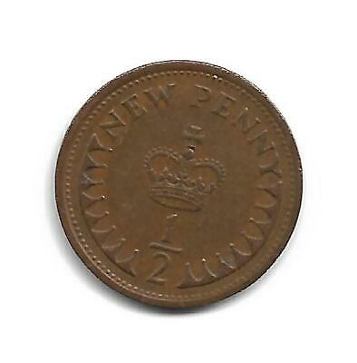 Half Pence - Decimal Coinage -  Issued 1974 - No Longer In Use