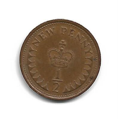 Half Pence - Decimal Coinage -  Issued 1976 - No Longer In Use