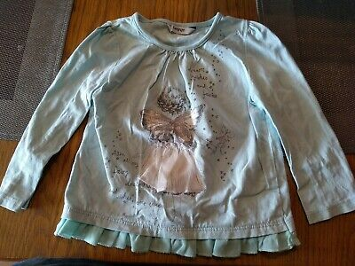 Baby Girls Mint Green Fairy Long Sleeved Top By George 12-18 Months