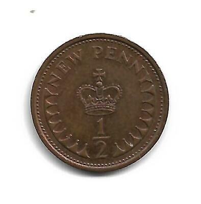 Half Pence - Decimal Coinage -  Issued 1977 - No Longer In Use