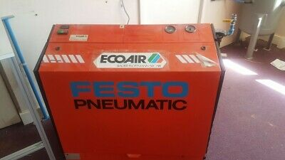 ECOAIR Air Compressor cmplete weith tank etc