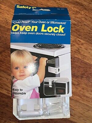 1995 Vintage Safety 1st Oven Lock Heat Resistant, Baby Proofing