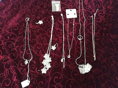 Sterling Silver 925 Job Lot Bundle of Mixed Jewellery