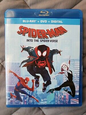 Spider-Man: Into The Spider-Verse (Blu-Ray + DVD + Digital ALL INCLUDED) (2019)