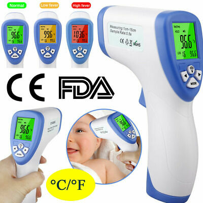 None-Contect Baby IR Infrared LCD Displayed Screen Digital Forehead Thermometer