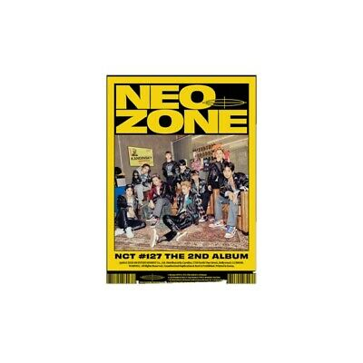 NCT 127 - The 2nd Album 'NCT #127 Neo Zone :CD  :  sealed