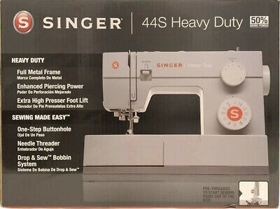 NEW Singer 44s, Classic Heavy Duty Sewing Machine