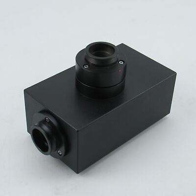 Olympus Fvx-Lvt Laser Enclosure / Dual Camera Port For Bx Microscope